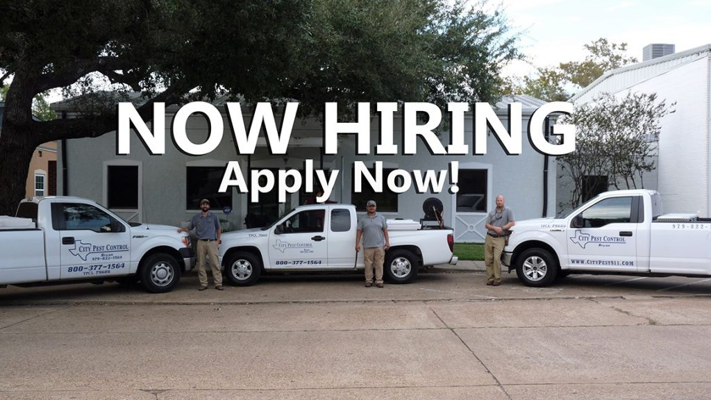Pest Control Technician - NOW HIRING